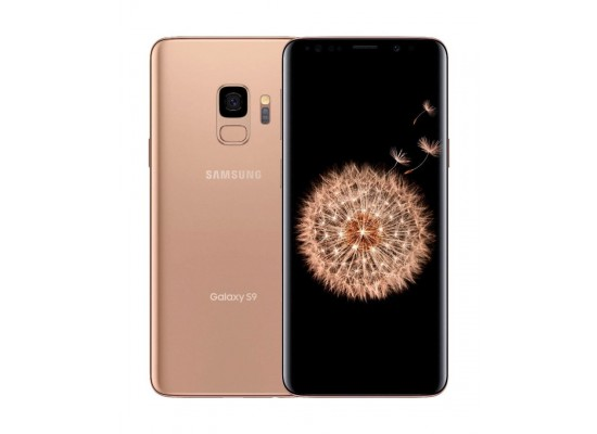 SAMSUNG Galaxy S9 128GB Phone - Gold