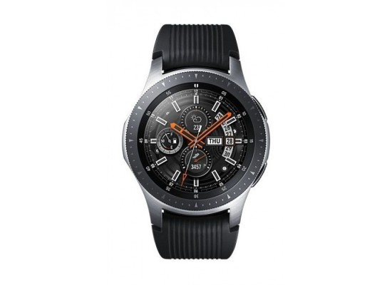 Samsung Galaxy Watch 46mm - Black/Silver + AKG S30 All-in-one Travel Speaker