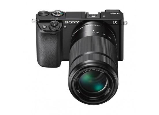 Sony A6000Y Digital Camera + 16-50mm + 55-210mm Lenses (Black)
