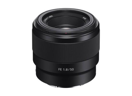 Sony FE 50mm F/1.8 Camera Lens - SEL50F18F