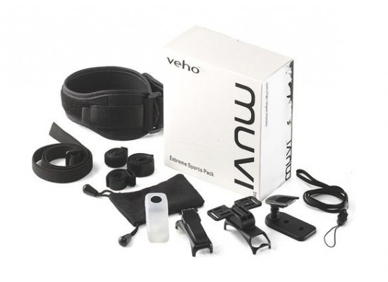 Veho Extreme Sports Pack For Muvi Action Camera(VCC-A001-ESP)