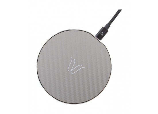 Woodie Milano Solo Wireless Charger - Carbon Ash
