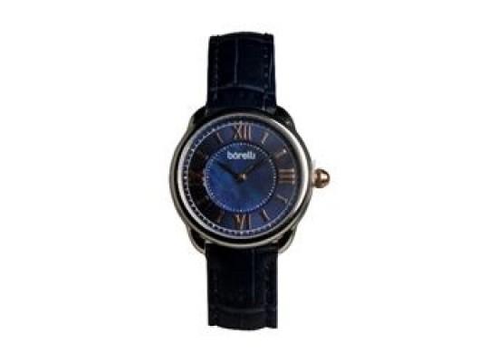 Borelli BWC20048709 Gents Analog Watch - Leather Strap – Blue