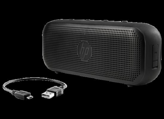 HP 400 Bluetooth Portable Speaker (X0N08AA) - Black  3rd view