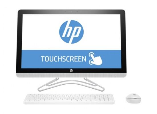 HP 24-e000ne  All-in-One Desktop - Front View 2