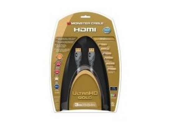 Monster Gold Advanced High Speed HDMI 3M UHD Cable