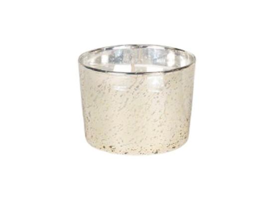 Sandalwood Candle 140g - Silver