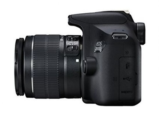 Canon EOS 2000D 24 1MP Wi-fi With 18-55 Lens IS II
