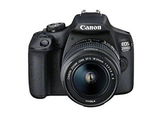 Canon EOS 2000D 24.1MP Wi-fi With 18-55 Lens IS II