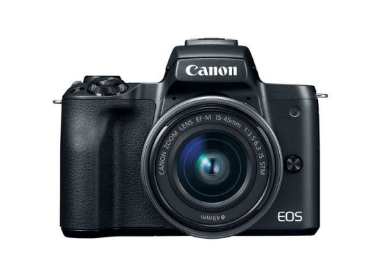 Canon EOS M50 Mirrorless Digital Camera With 15-45mm IS STM Lens