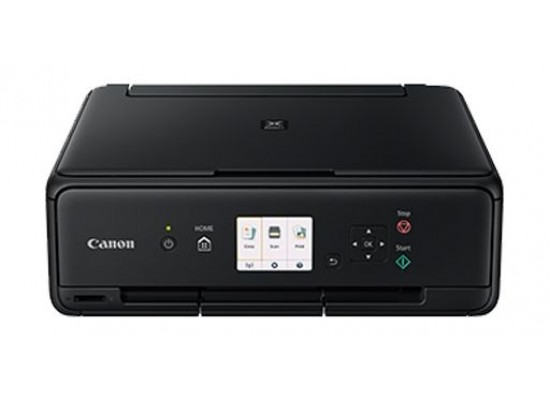 Canon TS5040 Pixma Inkjet 3-In-1 Wireless Colour Printer Black - Front