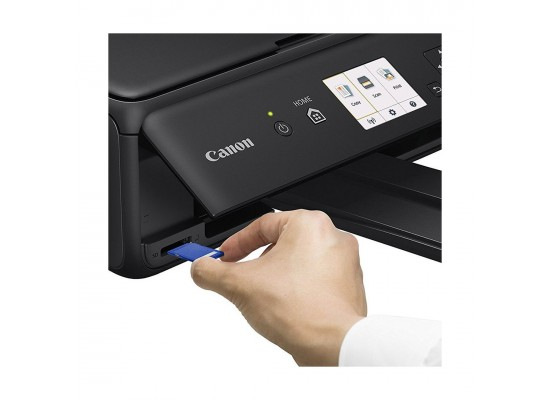 Canon TS5040 Pixma Inkjet 3-In-1 Wireless Colour Printer Black - Memory Slot