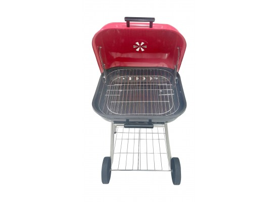 Cobra CB1053 18-inch Square BBQ Grill with Wheel