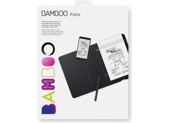 Wacom Bamboo Folio Smartpad Small (CDS-610G) - Black