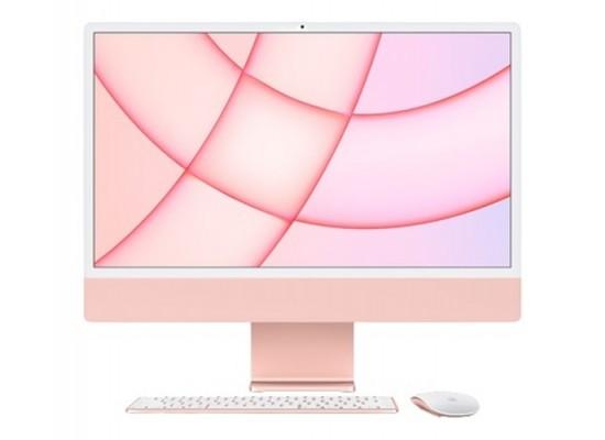Apple iMac M1 Processor 8GB RAM 512 SSD 24-inch Touch ID 4.5K Retina Display All-In-One Desktop (2021) - Pink