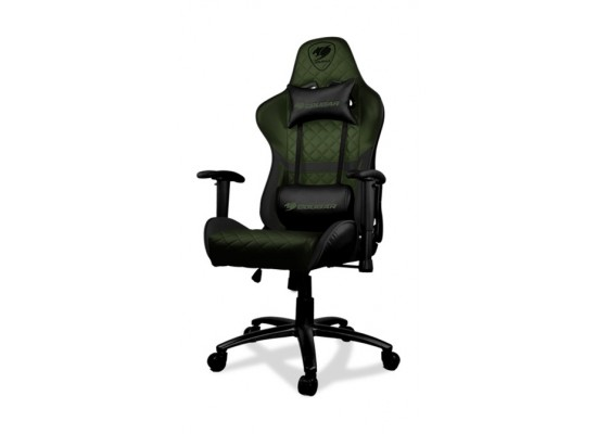 Cougar Armor One X Gaming Chair - Black/Green