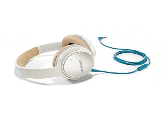 9518a124691 Bose QuietComfort 25 Acoustic Noise Cancelling Wired Headphones For Samsung  and Android devices - White