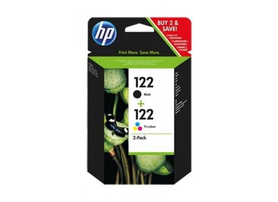 HP Ink 122 Black + Tri Color Combo Pack