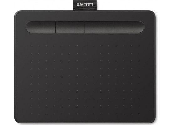 Wacom Intuos Bluetooth Creative Pen Tablet Small W/O Pen (CTL-4100K) - Black