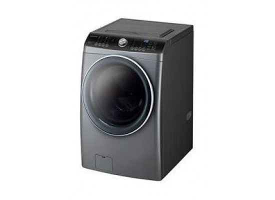 Daewoo DWC-AD1213 158 kg Washer & Dryer Silver - Left View