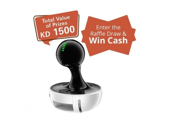 Dolce Gusto Nescafe Drop Automatic White Raffle Draw Coupon