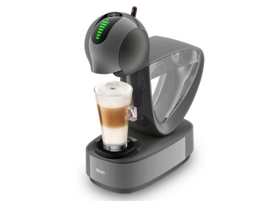 Delonghi Dolce Gusto Coffee Maker Machine Grey Silver Cheap buy in xcite Kuwait