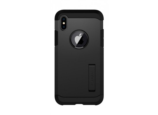 save off ff129 1fb40 Spigen Tough Armor Case For iPhone 10 - Matte Black