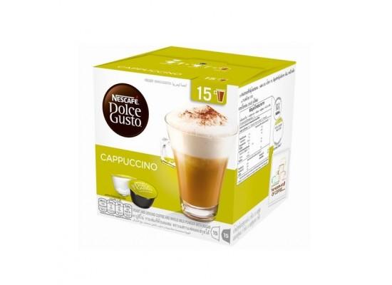 Dolce Gusto Nescafe Cappuccino Capsule 2+1 Free