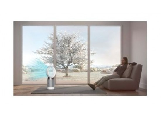 Dyson Pure Cool Purifier With Fan (DP04) - White/Silver