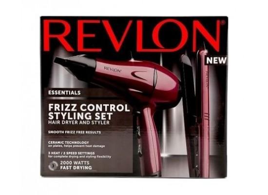 Revlon Styling Dryer With Straightener