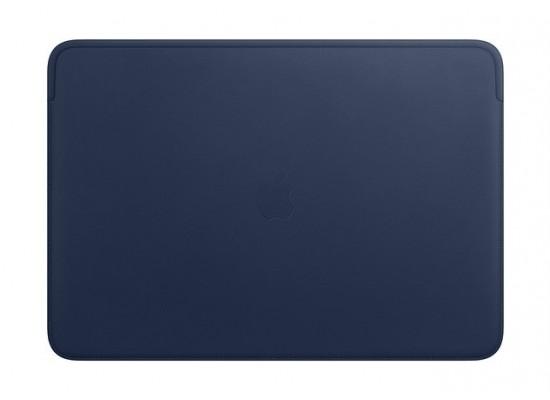 Apple 16‑inch MacBook Pro Leather Sleeve - Midnight Blue