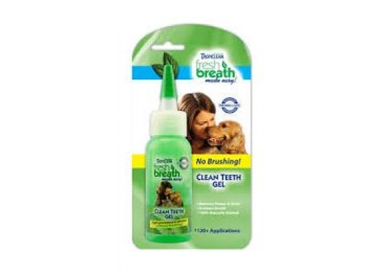 TropiClean Fresh Breath Clean Teeth Gel For Cats - 2 oz.