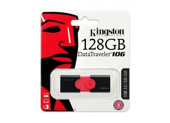 Kingston 128GB DataTraveler 106 USB 3.0 Flash Drive