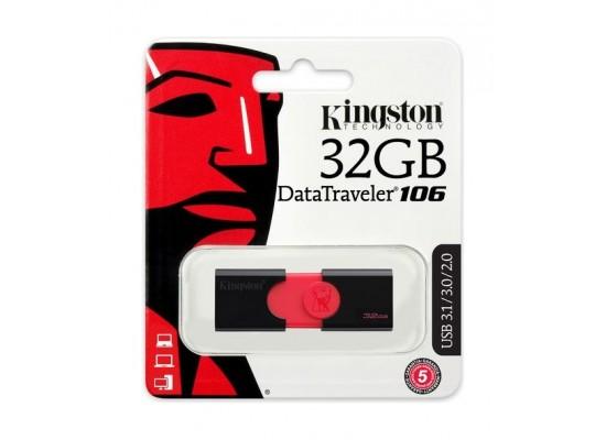Kingston 32GB DataTraveler 106 USB 3.0 Flash Drive
