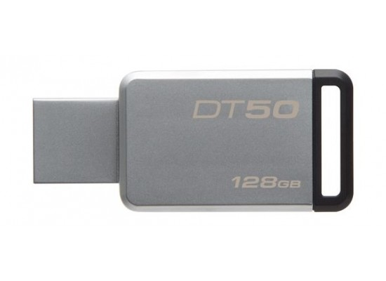 Kingston 128GB Datatraveler DT50 Flash Drive - Black