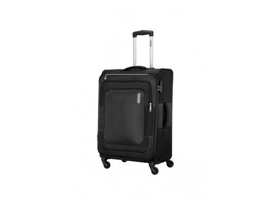 American Tourister Duncan 68CM Spinner Soft Luggage (FL8X09902) - Black