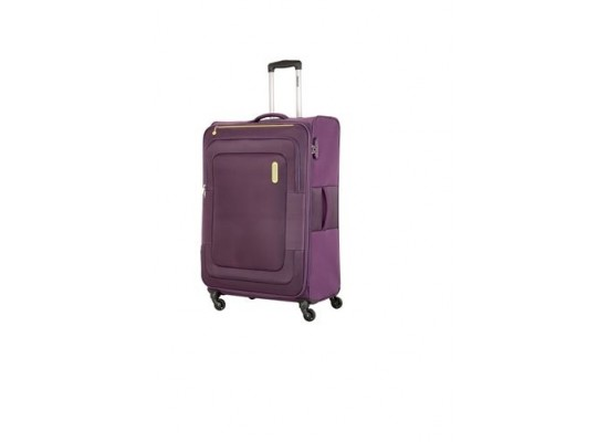 American Tourister Duncan 55CM Spinner Soft Luggage (FL8X91901) - Purple