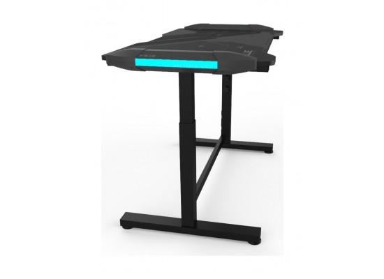 E-Blue Height Adjustable Glowing Gaming Desk - (EGT574BKAA-IA)