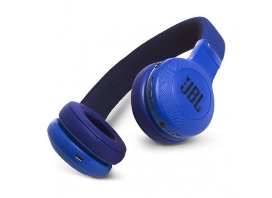 Jbl E55bt Bluetooth Over Ear Wireless Headphones Blue Price In Kuwait X Cite Kuwait Kanbkam