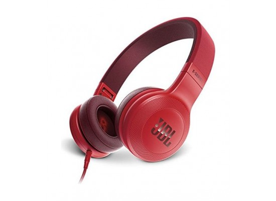 c2be41a530d JBL E35 Over-Ear Wired Headphone with Microphone - Red | Xcite ...
