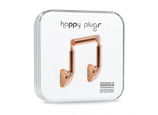 Happy Plugs Earbud Earphones – Rose