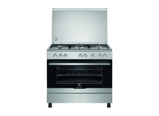 Buy Electrolux 5 Burner Gas Cooker (EKG9000A4X) in Kuwait | Buy Online – Xcite
