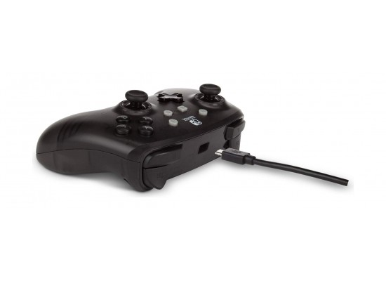 Enhanced Wired Controller for Nintendo Switch - Frost Series Black