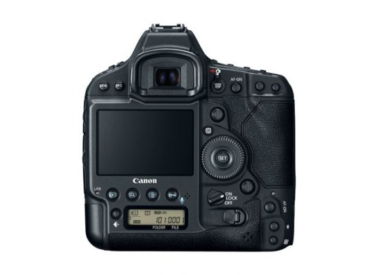 Canon EOS-1DX MARK II 20.2 MP 4K-AAA Digital SLR Camera – Black