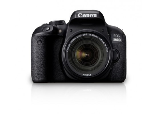 Canon EOS 800D18-55 IS STM 24.2MP Digital SLR Camera (Body)