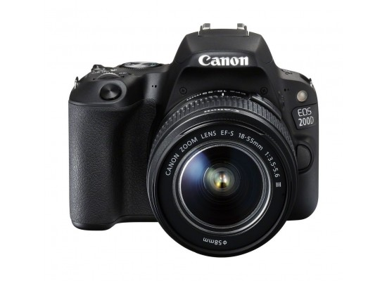 Canon EOS 200D 24.4MP Wi-Fi Digital Camera + EF-S 18-55 mm III Lens (