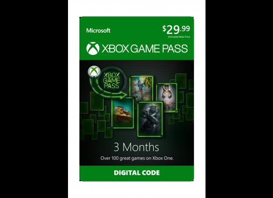 Microsoft Xbox Game Pass - (3 Month)