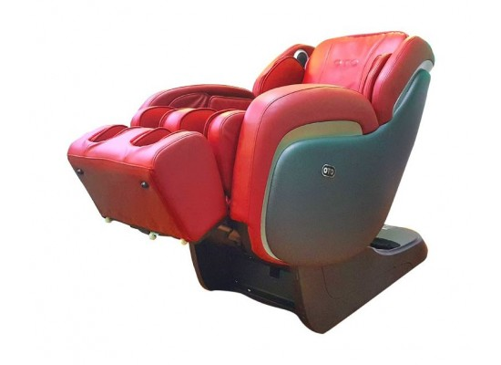 OTO Elite ET-01 Massage Chair with Heating & Speakers - Red