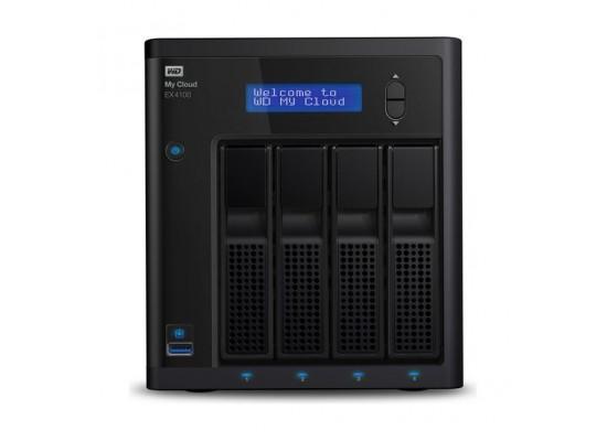 WD My Cloud Expert Series EX4100 16TB 4-Bay NAS Server (4 x 4TB)