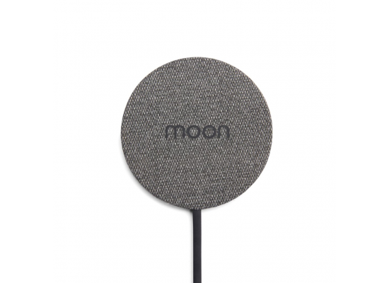 Moon Waterproof Charging Pad - Black Fabric